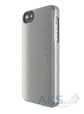 Чехол Adopted Leather Frame Apple iPhone 5, iPhone 5S, iPhone SE Grey