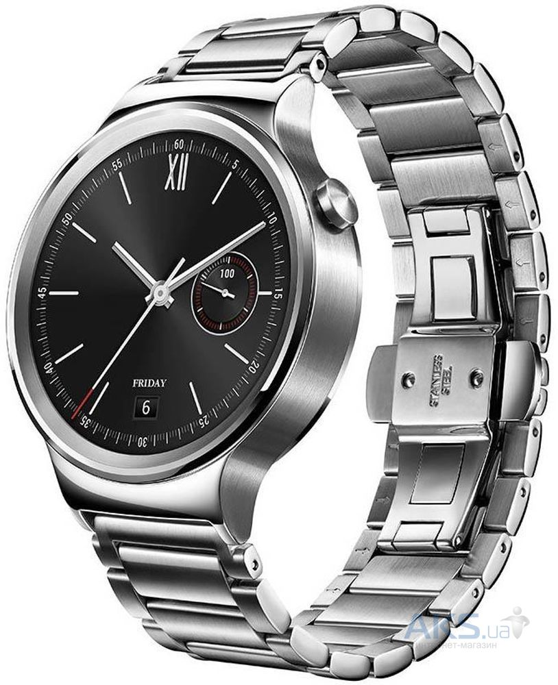 Умные часы Huawei Watch Stainless Steel with Stainless Steel Link Band