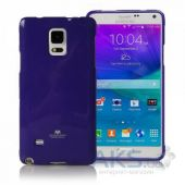 Чехол Mercury TPU Jelly Color Series Samsung N910 Galaxy Note 4 Violet