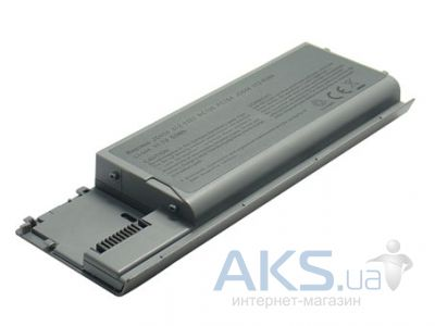 Батарея для ноутбука Dell PC764 (Latitude: D620, D630, 631; Precision M2300) 11.1V 4400mAh Silver