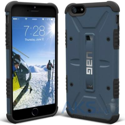 Чехол UAG Urban Armor Gear iPhone 6/6S Aero Blue (IPH6-SLT-VP)