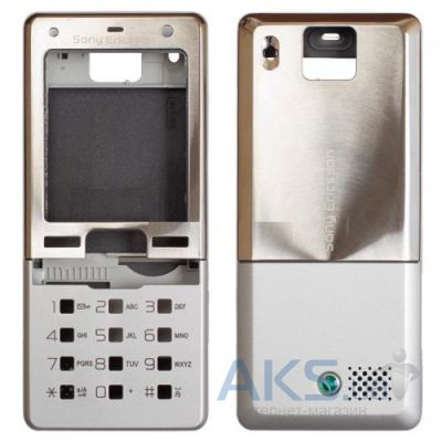 Корпус Sony Ericsson T650 Silver − купити в Києві та Україні b49b979a45012