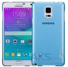Чехол Momax Ultratough case for Samsung Galaxy Note 4 Blue (CUSANOTE4B)