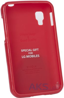Чехол VOIA Jelly Case for LG Optimus L4 II Red