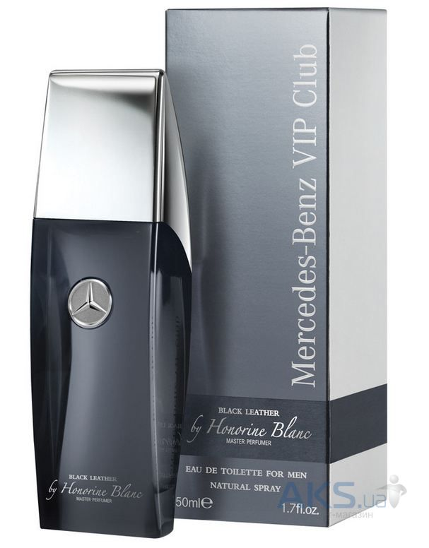 Mercedes-Benz Black Leather Туалетная вода 50 ml