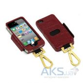 Чехол Tunewear Prie Ambassador Red Crocodile for iPhone 4