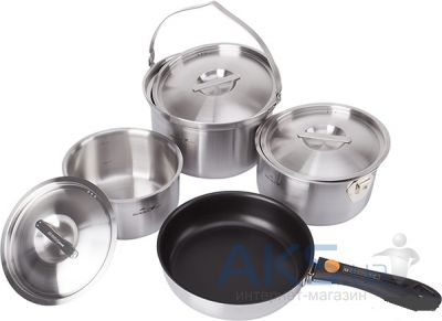 Набор посуды Kovea All-3PLY Stainles Cookware (8806372095796)