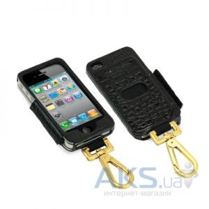 Чехол Tunewear Prie Ambassador Black Crocodile for iPhone 4
