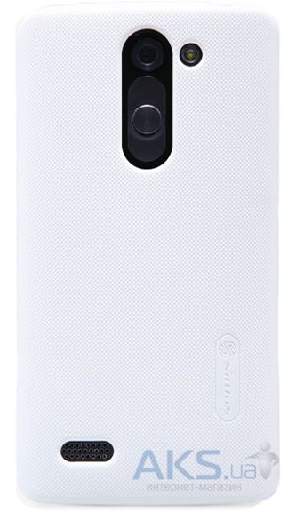 Чехол Nillkin Super Frosted Shield LG Optimus L Bello D335 Dual White