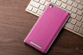 Вид 2 - Чехол Slenky Buisness Leather Series Xiaomi Redmi 3 Pink