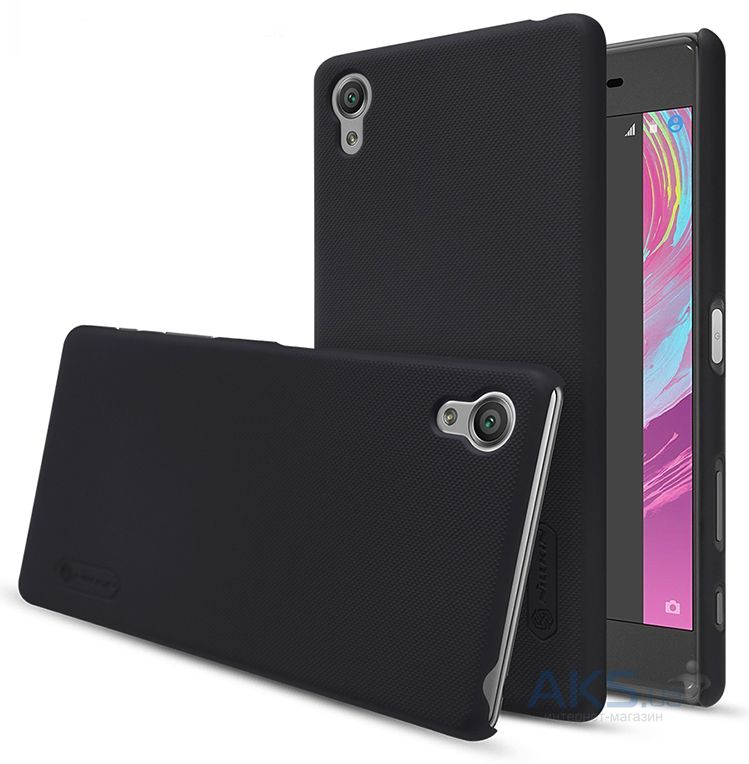 Чехол Nillkin Super Frosted Shield Sony Xperia X Performance Black