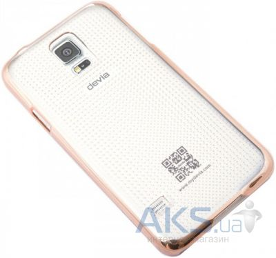 Чехол Vouni Glimmer Spot для Samsung Galaxy S5 Gold