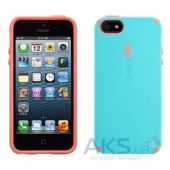 Вид 2 - Чехол Speck CandyShell Apple iPhone 5, iPhone 5S, iPhone 5SE Pool Blue/Wild Salmon Pink (SPK-A1564)