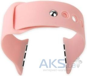 Baseus iWatch Silicon Strap for Apple Watch 38mm Pink