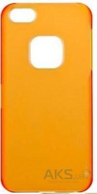 Чехол Momax Ultra Tough Slim Apple iPhone 5, iPhone 5S, iPhone 5SE Orange (CHUTAPIP5TO1)