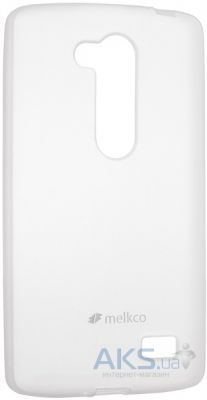 Чехол Melkco Poly Jacket TPU for LG L70+ Fino/D295 Transparent
