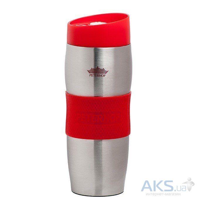 Термокружка Peterhof 400мл(PH-12410) красная