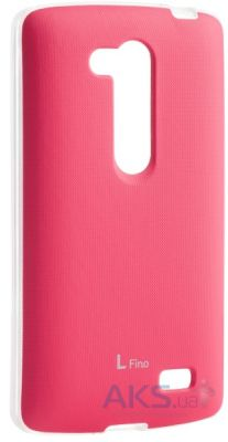 Чехол VOIA Jell Skin for LG Optimus L70+ Dual (D295/Fino) Pink