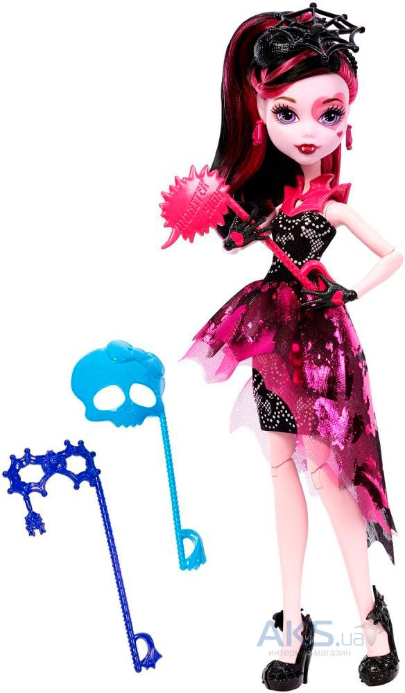 Игрушка Mattel Кукла Дракулаура Welcome to Monster High (DNX32)
