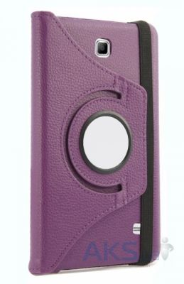 Чехол для планшета TTX Leatherette case для Samsung Galaxy Tab 4 7.0 Purple