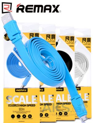 Кабель USB REMAX Scale Ruler Lightning Cable Blue