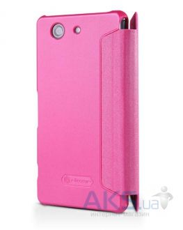 Чехол Nillkin Sparkle Leather Series Sony Xperia Z3 Compact D5803 Pink