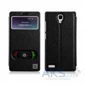 Чехол Xoomz Litchi Pattern Leather для Xiaomi Mi Note Black