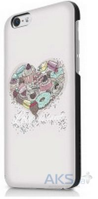 Чехол ITSkins Hamo for iPhone 6 White 2 (APH6-NHAMO-WHT2)