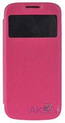 Чехол Hoco Dazzled view leather case for Samsung i9190 Galaxy S4 Mini Rose Red (HS-L059)