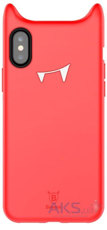 Чехол Baseus Devil Baby Apple iPhone X Red