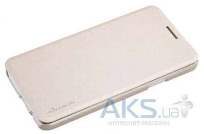 Чехол Nillkin Sparkle Leather Series Samsung A3/A300 Golden