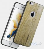 Вид 3 - Чехол Hoco Element Series Wood Grain Apple iPhone 6, iPhone 6S Champagne
