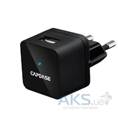 Зарядное устройство Capdase USB Power Adapter Atom Plug Black (1 A) Black (AD00-A001-EU)