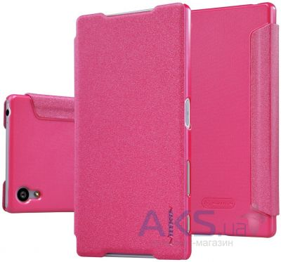 Чехол Nillkin Sparkle Leather Series Sony Xperia Z5 E6683 Pink