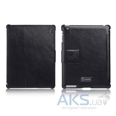 Чехол для планшета iCarer Honourable for Apple iPad 2/3/4 Black (RID201)