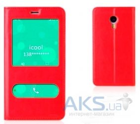 Чехол Book Cover TPU case for Meizu M2, M2 mini Red