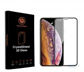 Защитное стекло Powermax 3D CrystalShield Apple iPhone X, iPhone XS, iPhone 11 Pro Black (PWRMXCRIPHXB)
