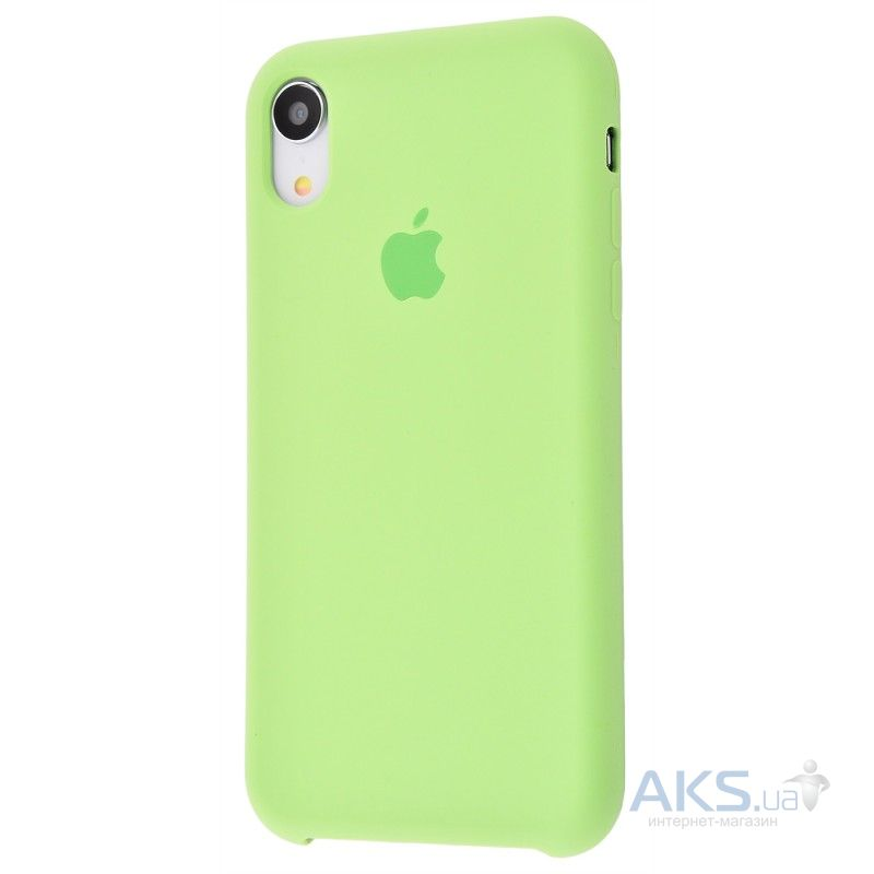 Чехол Apple Silicone Case iPhone XR Mint (HC)