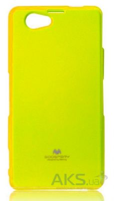 Чехол Mercury TPU Jelly Color Series  Sony Xperia Z1 Compact D5503 Yellow