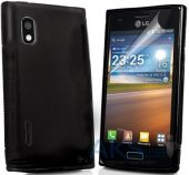Чехол Original TPU для LG Optimus L5 E615 Dual Black