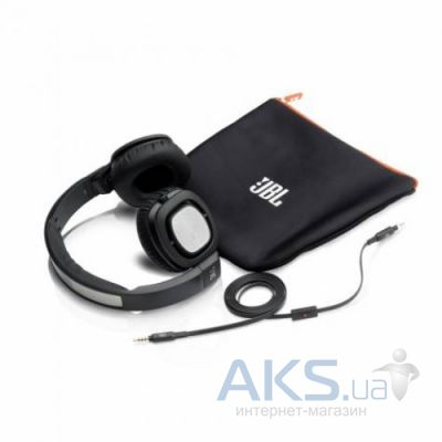 Наушники (гарнитура) JBL On-Ear Headphone J55A Black (J55A BLK)