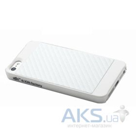Чехол ION Factory StealthShell iPhone 5S/5 white (i1233- PWH005)