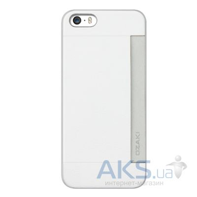 Чехол Ozaki O!coat-0.3+Pocket Apple iPhone 5, iPhone 5S, iPhone SE White (OC547WH)