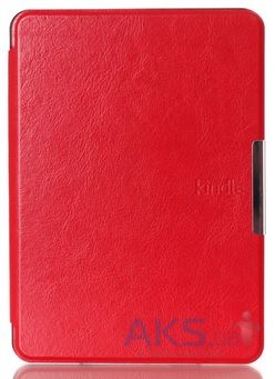 Обложка (чехол) Leather case for Amazon Kindle 6 Red