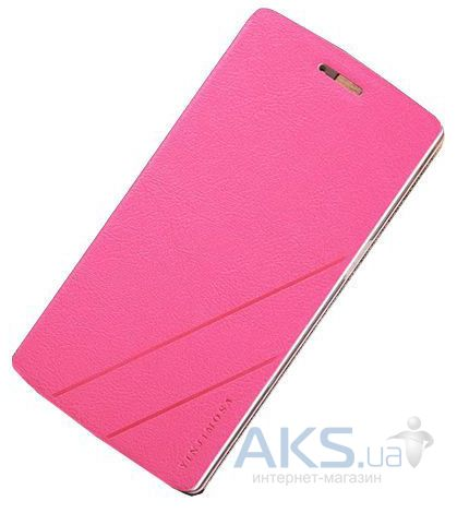 Чехол Yinjimosa Book Leather Series Meizu M2 Note Pink