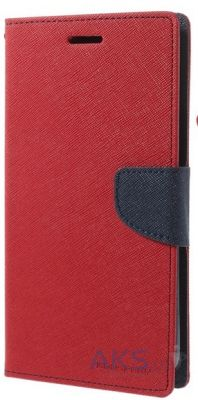 Чехол Mercury Fancy Diary Samsung N920 Galaxy Note 5 Red