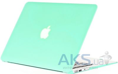 Чехол Kuzy Rubberized Plastic Case for MacBook Air 11 Mint Green