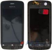 Сенсор (тачскрін) Nokia C5-03, C5-06 with frame Original Black