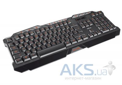 Клавиатура Trust GXT 280 LED Illuminated Gaming Keyboard (18911) Black