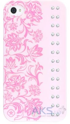 Чехол Bling My Thing Opaque Color Case Case for iPhone 4 / 4S : Elegance / Baby Pink / Crystal (BMTS-11-20-10-01)